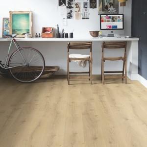 QUICK STEP VINYL FLOORING (LVT) Victorian Oak Natural  BACL40156