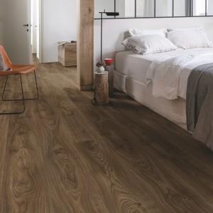 QUICK STEP VINYL FLOORING (LVT) Cottage Oak Dark Brown  BAGP40027