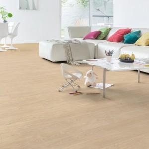 QUICK STEP VINYL FLOORING (LVT) Select Oak Light  BAGP40032