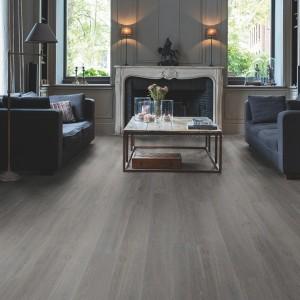 QUICK STEP VINYL FLOORING (LVT) Silk Oak Grey Brown  BAGP40060