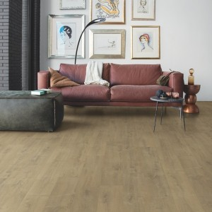 QUICK STEP VINYL FLOORING (LVT) Velvet Oak Sand  BAGP40159