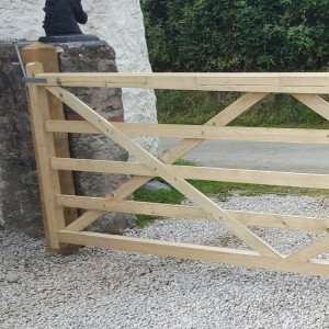 DENBIGH TIMBER - The Beacons - 5 Bar Field Gate