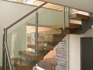 Pear Stairs - Blackbrook Oak Metal and Glass Staircase (95)