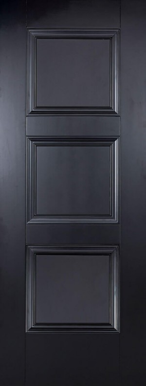 "LPD - Fire Door - Black Amsterdam 1981 x 686 (27"")  AMSBLAFC27"