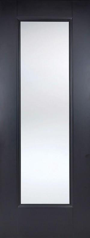 """LPD - Internal Door - Black Eindhoven Glazed 1L 1981 x 686 (27"""")  EINBLAGL27"""