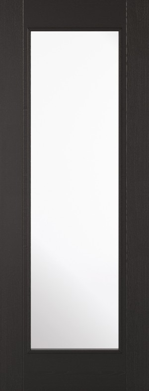 "LPD - Internal Door - Black Laminated Vancouver 1L 1981 x 838 (33"")  LAMBLAVANGL33"