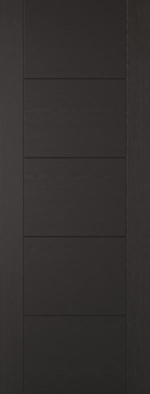 "LPD - Fire Door - Black Laminated Vancouver 1981 x 686 (27"")  LAMBLAVANFC27"