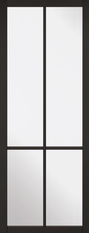 """LPD - Internal Door - Black Liberty 4L 1981 x 686 (27"""")  LIBBLA27"""