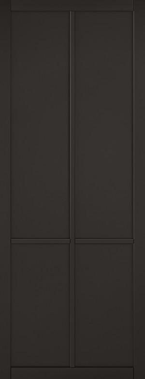 "LPD - Internal Door - Black Liberty 4P 1981 x 686 (27"")  LIBSOLBLA27"