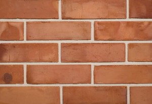 "Imperial Brick 2 1/2"" Reclamation Orange Wirecut Brick Slip"