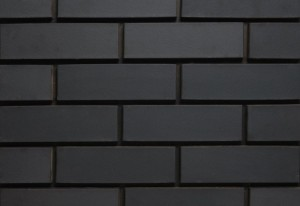 Imperial Brick Contemporary Matt Black Brick Slip