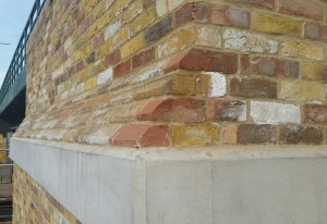 Imperial Brick Reclamation Yellow Multi Stock Brick Slip