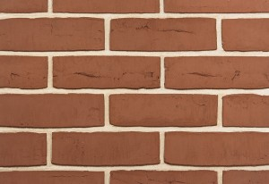 Imperial Brick Rural Red Waterstruck Brick Slip