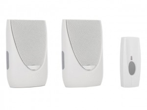 BY20 Series Wireless Doorbell Kit with Flashing Chime  BYRBY212F