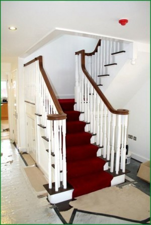 Pear Stairs - Cambridge Sapele Cut String Staircase (27)