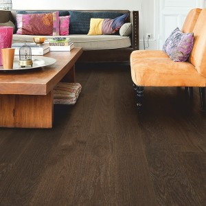 QUICK STEP WOOD FLOORING Coffee Brown Oak Matt  CAS1352S