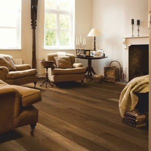 QUICK STEP WOOD FLOORING Havana Smoked Oak Matt  CAS1354S