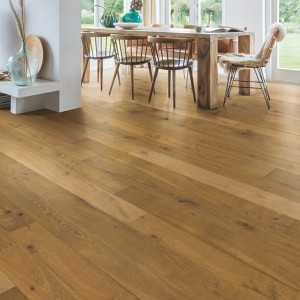 QUICK STEP WOOD FLOORING Barrel Brown Oak Oiled  CAS3897S