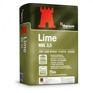 HANSON Hydraulic Lime NHL 3.5 -25Kg  CCHYDLIME25