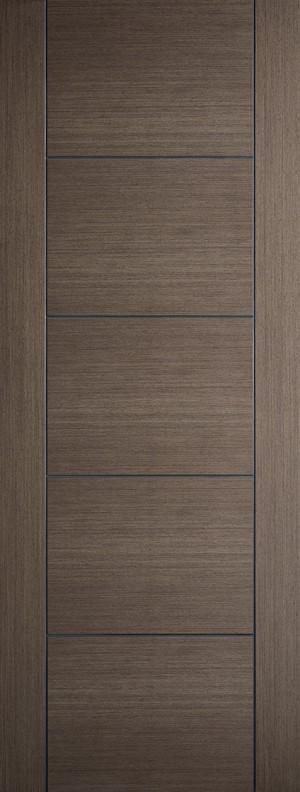 "LPD - Fire Door - Chocolate Grey Vancouver 1981 x 838 (33"")  CHGVANFC33"