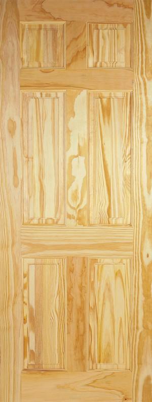 "LPD - Internal Door - Clear Pine 6P 2032 x 813 (32"")  CP6P32"