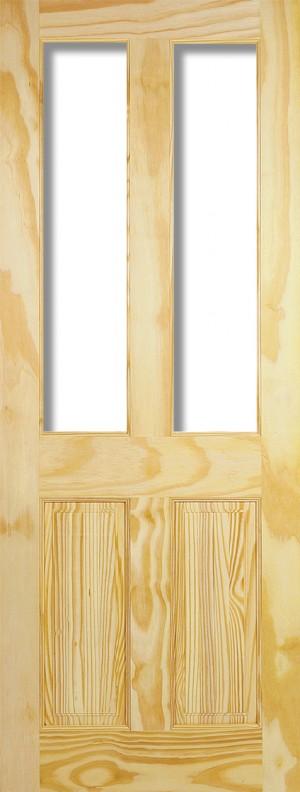 "LPD - Internal Door - Clear Pine Richmond 2L Unglazed 1981 x 686 (27"")  CPRIC27"