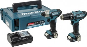 MAKITA 10.8V CLX202AJ Twin Kit Power Tool