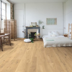 QUICK STEP WOOD FLOORING Country Raw Oak Extra Matt  COM3097
