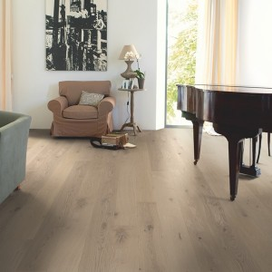 QUICK STEP WOOD FLOORING Oak Cobblestone Grey Extra Matt  COM3107