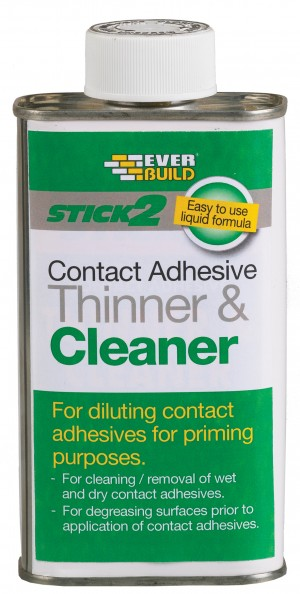 SikaEverbuild Stick2 Contact Adhesive Thin & Cleaner