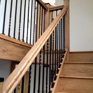 Pear Stairs - Cross Lanes Metal Staircase (421)