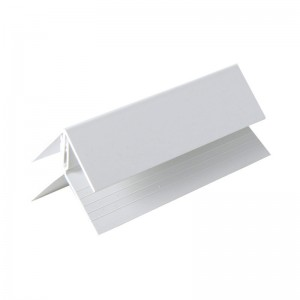 FLOPLAST Internal/External Corner (two part) - Various Woodgrain Foil Colours/White