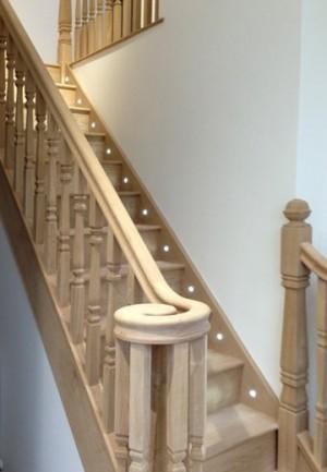 Pear Stairs - Chynowen Straight Staircase (318)