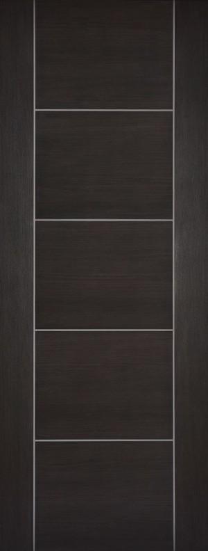 "LPD - Internal Door - Dark Grey Laminated Vancouver 1981 x 838 (33"")  LAMDGRVAN33"