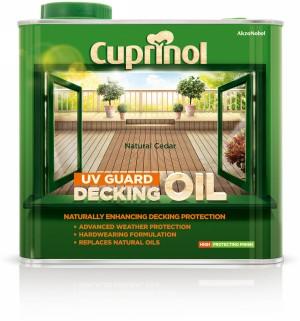 Cuprinol UV Guard Decking Oil