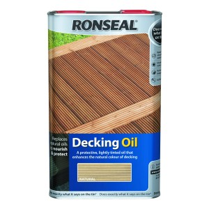 Ronseal Decking Oil Natural 5L [SRR35190]