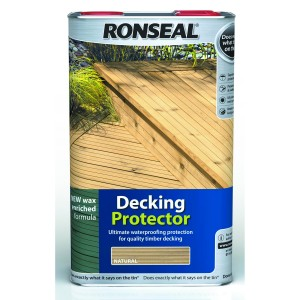 Ronseal Decking Protector Natural 5L [RONS36434]