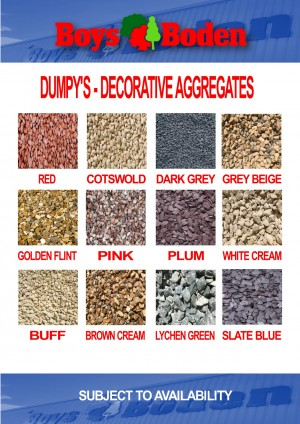DUMPY BAG Blue Slate 20mm Decorative Aggregate  CHESLAT20DUM