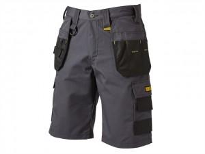 Cheverley Lightweight Grey Polycotton Shorts  DEWCHEV30W