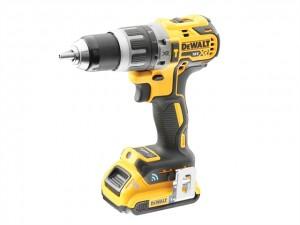 DeWalt 18V DCD797D2B XR B/Less Drill 2x2Ah BT Power Tool  DEWDCD797D2B