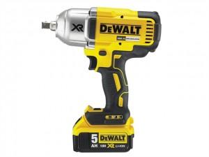 DeWalt 18V DCF899P2XR Impact Wrench 1x5Ah Power Tool  DEWDCF899P2GB