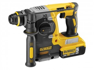 DeWalt 18V DCH273P2 XR B/Less SDS Hammer 2x5Ah Power Tool
