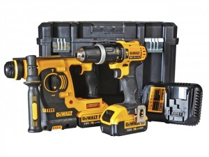 DeWalt 18V DCK206M2T SDS & Combi Twin Pack 2x4Ah Power Tool
