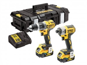 DeWalt 18V DCK2500P2B XR B/Less IA Kit 2x2Ah BT Power Tool