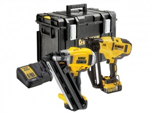 DeWalt 18V DCK264P2 Nailer Twin Pack 2x5Ah Power Tool