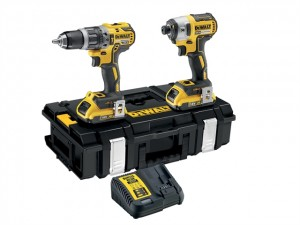 DeWalt 18V DCK266D2 XR Brushless Twin Pack 2x2Ah Power Tool