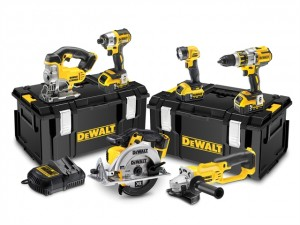 DeWalt 18V DCK694P3 Brushless XR 6pc Kit 3x5Ah Power Tool  DEWDCK694P3
