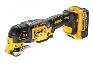 DeWalt 18V DCS355M1 XR Oscillating Tool 1x4Ah Power Tool  DEWDCS355M1GB