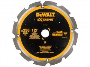 Extreme PCD Fibre Cement Saw Blade  DEWDT1474QZ