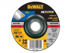 FlexVolt XR Runtime Metal Grinding Disc 125mm  DEWDT99580QZ